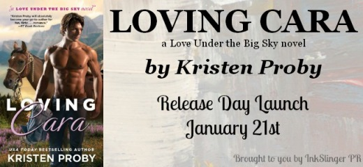Loving Cara Release Day Launch Banner